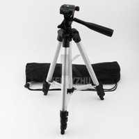 Wholesale Free DHL Portable Mini Tripod A Section Legs with Swivel Panhead Carrying Bag WT3110A For Digital Camera
