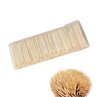 Wholesale new arrive Rushed Toothpicks disposable Toothpicks Party Picks Products bags Bamboo design