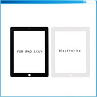 Wholesale For iPad mini Touch Screen Digitizer Glass Front Lens Replacement Part for iPad White Black