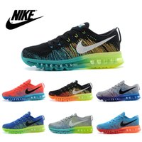 tennis shoes - Nike Men s FLYKNIT Air Max Running Shoes Original Mens running shoes Cheap FLYKNIT Air Max Best Tennis Jogging Shoes