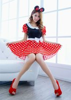 babydoll song - Sexy lingerie sexy female romantic love song of home maid service maid Mickey dot lovely babydoll dress