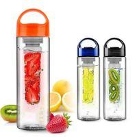 american drinking water - 2015 HOT ml Fruit Infuser Water Bottle American Style Fruit Infusing Infuser Lemon Juice Maker bike travel hot