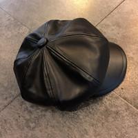 baker street - PU Baker Beret Flat cap newsboy cabble gatsby golf hats for men and women colors