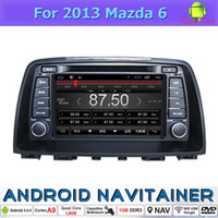 Car Audio In Car System Dvd Android Quad Core pour 2013 Mazda 6 avec Radio CD MP3 MP4 MP5 Navigation GPS
