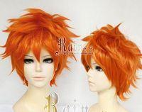 Wholesale MXJ WSY321 gt New Haikyuu Karasuno High School Volleyball Club Hinata Shouyou Short Orange Wig