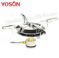 cookware - 1PC Outdoor Mini Portable Picnic Camping BBQ Gas Butane Propane Stove for Campinbg Outrdoor Traveling