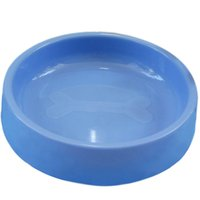 Wholesale Durable Cute Pets Plastic Bowl Feed Drinking Dog Cat Nontoxic FATE