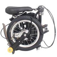 folding bike - quot New Fashion Portable Single Speed Folding Bicycle Mini Foldable Bike Black