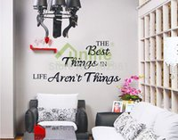 best life sayings - Funlife New Design The Best Things in Life Aren t Things Quote Vinyl Wall Decal Inspirational LOVE Saying for Family WS46DF5403
