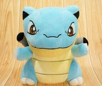 Wholesale High quality cm plush animals soft stuffed blastoise cute baby toys birthday christmas gifts