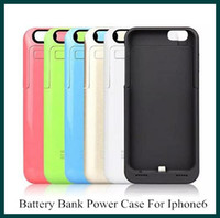 External Battery case - 3500mAh battery bank Power Charge case cover for iPhone quot Cell Phone Chargers External Battery Case color