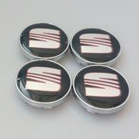al wheels - xterior Accessories Emblems mm inch SEAT Car Emblem Wheel Center Hub Caps Dust proof Badge Logo Covers SEAT Ibiza Leon Al