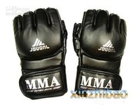 ufc gloves - MMA UFC Boxing Gloves Grappling Fight Sparring Kick Training black sporting