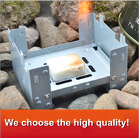 alcohol burner fuel - Outdoor Portable folding convenient German alcohol wax block stoves camping stove picnic alcohol solid fuel burner cooker g