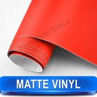 aluminum sheet rolls - Red Matt Vinyl Air Release Backing Car Sticker Roll Size Meter x Meter FREE SHIPPIN
