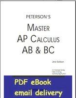 ap calculus - Master the AP Calculus AB amp BC nd Edition Peterson s Ap Calculus
