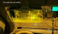 Wholesale night vision car driving glasses and sunglasses day night the dual purpose prevent dazzle goggles sunshade