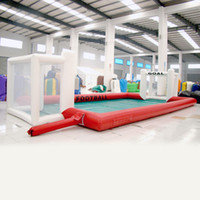 Wholesale CE certification inflatable sports games inflatable football playground for kid children inflatable toy for sale fun inflatable sport game