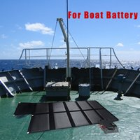 solar car battery charger - 100W folding monile solar battery charger for car charging outdoor