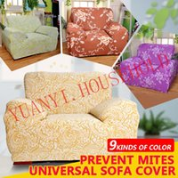 Wholesale seat universal purple coffee rose printed Anti mite sofa cover suitable to all of our common home sofa