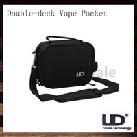 Bolsas de bolsillos Baratos-Youde UD dos pisos Vape bolsa de vapor Tool Kit bolsa original del 100%