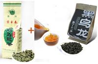 bag taiwan - 2 bags set g Taiwan Ginseng Oolong tea g Black Oolong tea organic food for slimming and health care