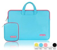 color cover notebook - Cartinoe Lithe Series Waterproof Laptop case NoteBook Computer Briefcase PU Handbag color cover for Macbook Air Pro inch