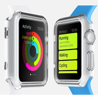 Wholesale Ultra Thin Slim Transparent Clear Soft TPU Rubber Silicone Cover Case Skin For mm Apple Watch Iwatch MOQ