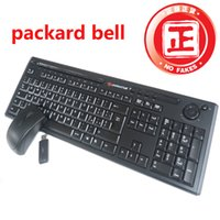 bell keyboard - Car Original for A CER packard bell wireless keyboard and mouse set multimedia disk Freeshipping