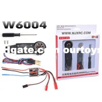 Wholesale 2015 High Quaily MJX F49 RC Helicopter Parts Brushless Tail Motor Set W6004