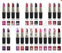Wholesale 2016 New Year Gifts brand makeup purple lipsticks mc Heroine Diva lipstick professional makeup waterproof lipstick cosmetic batom via dhl
