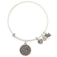 Celtic bracelets wholesale cheap bangles - Fashion Europe retro Cheap Alex Ani iron wire loop alphabet Charm Bracelets Women adjustable Bangle
