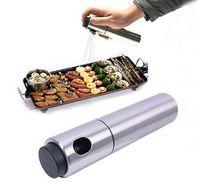 Wholesale Kitchen Stainless Steel Olive Mist Spray Pump Bottle Oil Sprayer Pot Cook Tool