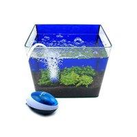 Wholesale 1 W V Aquarium Air Pump Ultra Silent High Out Energy Efficient Fish Tank Oxygen Airpump Piscine Aquariums Accessories