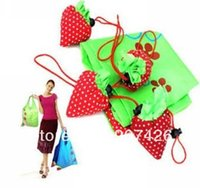 Wholesale EXW low price Folding bags Strawberry Strawberry Shopping Bag Strawberry Bag