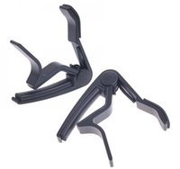 Wholesale Single handed Acoustic Guitar Trigger Change Guitar Capo Quick Change Made of Aluminium alloy F0042