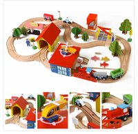 babay toys - babay like environmental Small electric train dresses buinding block toy orbit model children s large toy gift