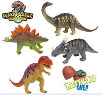 Wholesale 2016 New Fashion D Dinosaur puzzle egg Building Blocks educational toy great fun for children s gifts