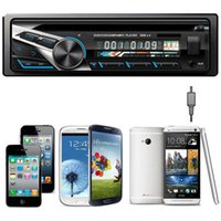 Cheap car dvd Moodeosa Car Audio Stereo In-Dash FM DVD CD MP3 Player Receiver With USB SD AUX Input 5221
