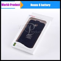 Wholesale new mAh Battery Case For Google Moto Nexus MOTO Nexus6 Shamu XT1100 Charger External Backup in stock Hot sale cheapest