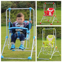 Wholesale 2015 New Arrival Three Color Baby Swing Rocking Chair for Baby Christmas Gift Indoor Outdoor Baby Swing Relaxing Chair