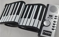 Wholesale 61 Keys USB Silicon Flexible Roll Up Electronic Piano MIDI Keyboard Musical Instrument Portable Electronic Organ