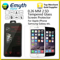 Wholesale Can Mix more than model mm iPhone PlusTempered Glass Screen Protector For iPhone s s Galaxy S4 S5 S6 Note