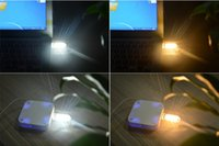 Wholesale Mini USB LED Night light Camping lamp For Reading Bulb Laptops Computer Notebook Mobile Power Charger Warm White biens