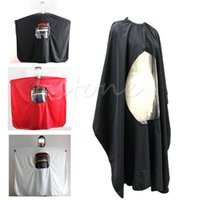 Wholesale Salon Barber Hairdresser Hair Cutting Cape Gown Hairdressing Clothes Play order lt no track