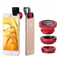 accessories mobile lens - Phones Accessories Leather Mobile Phone Bags amp Cases Fisheye Lens Coque for Iphone Samsung Galaxy Note Camera Fish Eye
