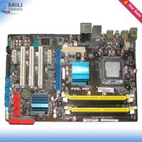asus desktop sale - For Asus P5QL PRO Original Desktop Motherboard For intel P43 Socket LGA DDR2 USB2 On Sale