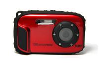 Precio de Camera underwater-Resistente al agua 10M Cámara digital de 8x de zoom bajo el agua a prueba de golpes HD 2.7inch leva DC-B168 el envío sin agua LCD CMOS Cámaras prueba DC