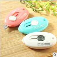 Wholesale Right Hand Deli Cobbier Mini Utility Knife Paper Knife Envelope Knife Retractable Stationery Knife Random Colors