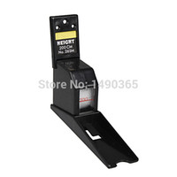 Wholesale 200cm Black Color Wall Mounted Height Rod Meter Stadiometers Growth Ruler